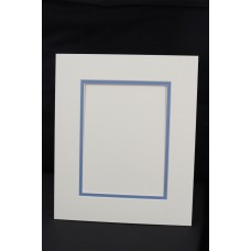 Cream Core Double Mount 50x40cm