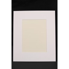 Cream Core Single Mount 30x24cm