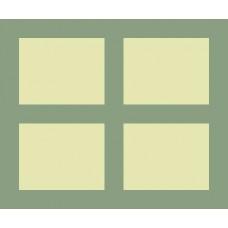 Multi-Aperture C54 24x20 for 4 9x7