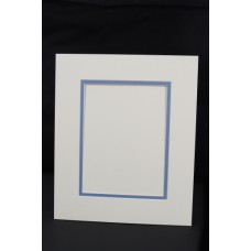 White Core Double Mount 50x40cm